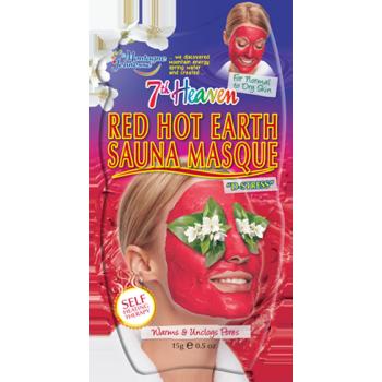 Mascarilla Efecto Calor Sauna Tierra Roja